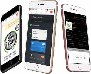 Sniip App mobile bill paying mockup
